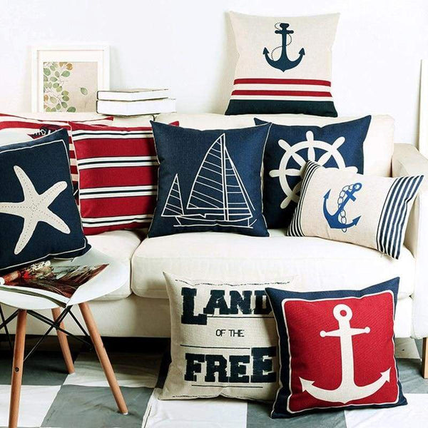 Nautical Cushion Covers