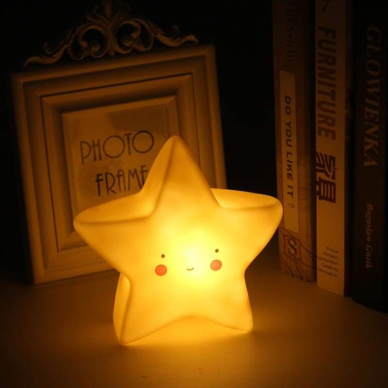 Nightly Friends - Yellow Star - Night Lights