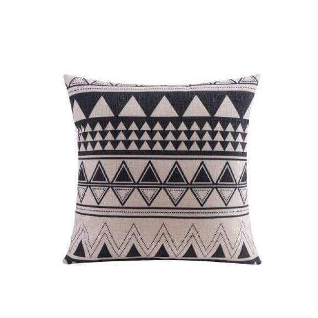 Nordic Cushion Covers - Geometric - 45X45 Cm (18X18 Inches)