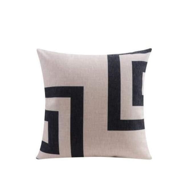 Nordic Cushion Covers - Outline - 45X45 Cm (18X18 Inches)