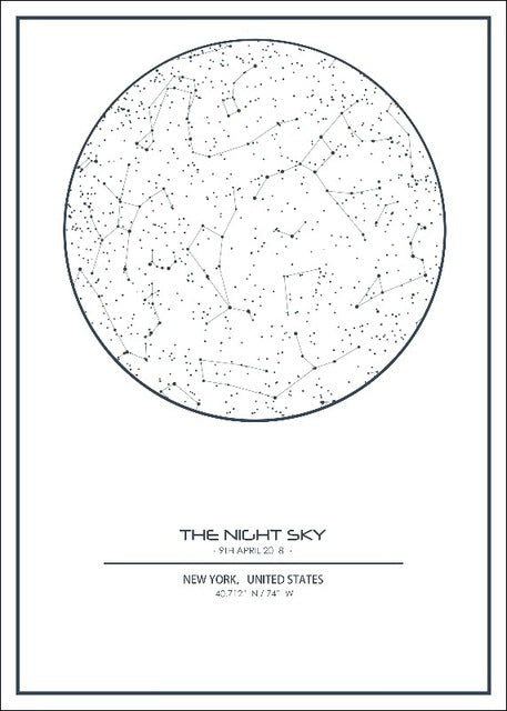 Night Sky Maps