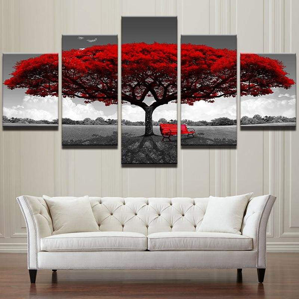 Ruby Red - Canvases