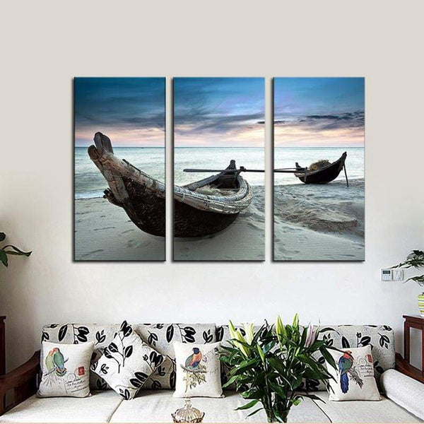 Sailing The Beach - Canvases