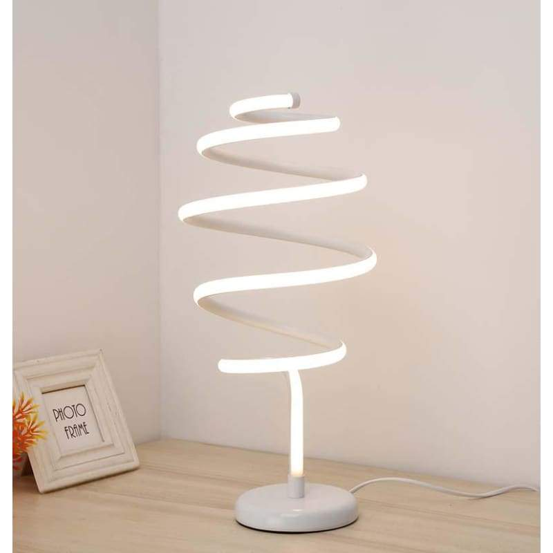 Spinning Perfectly - White / Cool White - Decor Lights