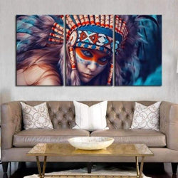 The Bold Native - Canvases
