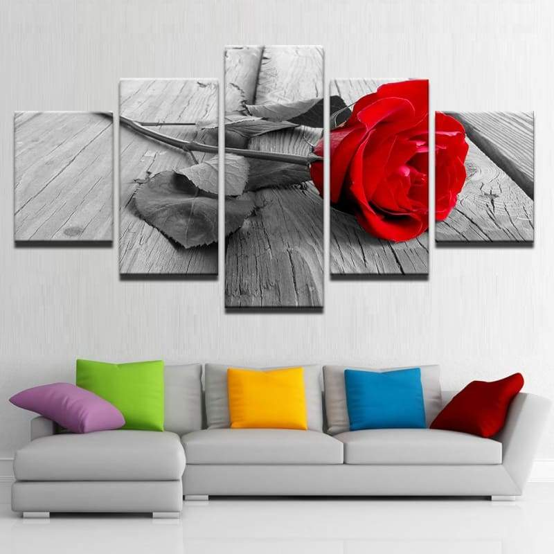 The Reddest Rose - Canvases