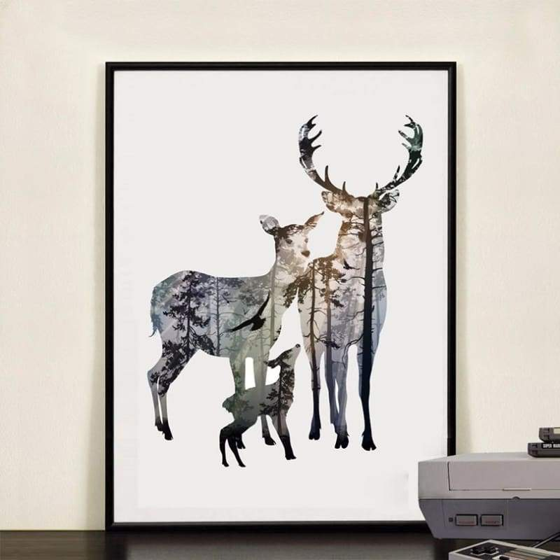 To My Deer Family - 20X25Cm (8X10 Inches) / Deer Family 2 - Prints