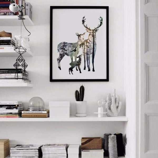 To My Deer Family - Prints