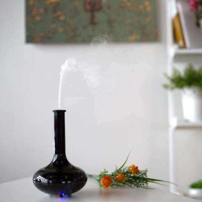 Vase Of Air - Black - Humidifiers