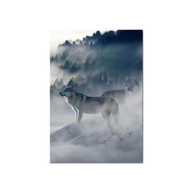 Wolves Mist - 20X30 Cm (8X12 Inches) / Right
