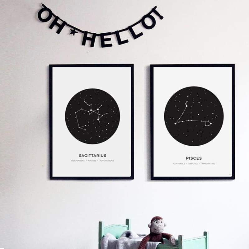 Zodiac Constellation Collection - Prints