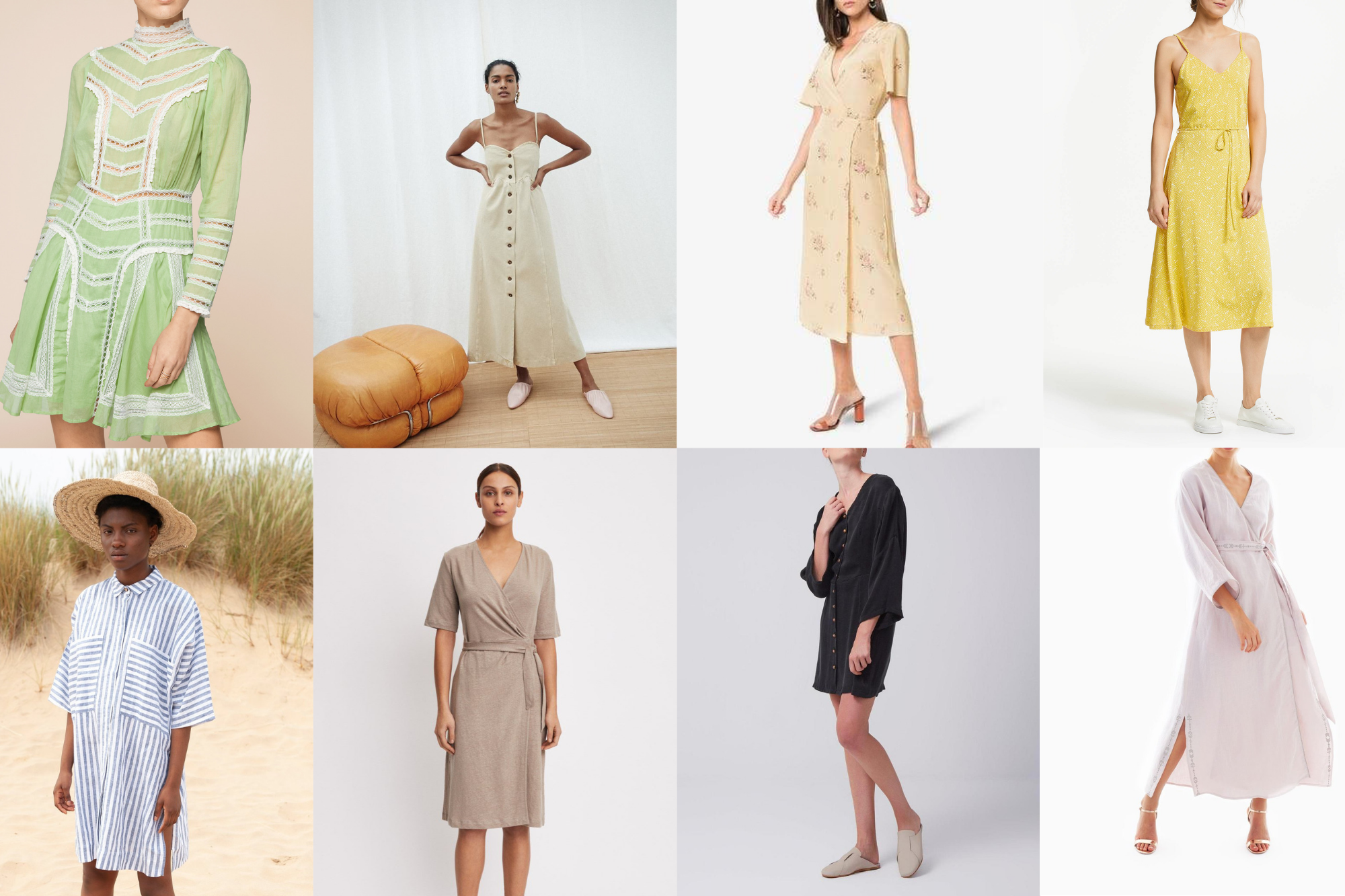 10 sustainable dresses for this summer 2019 for any occasion