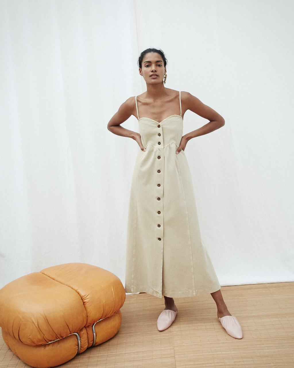 Sustainable dresses for summer 2019: Kaia Nanushka