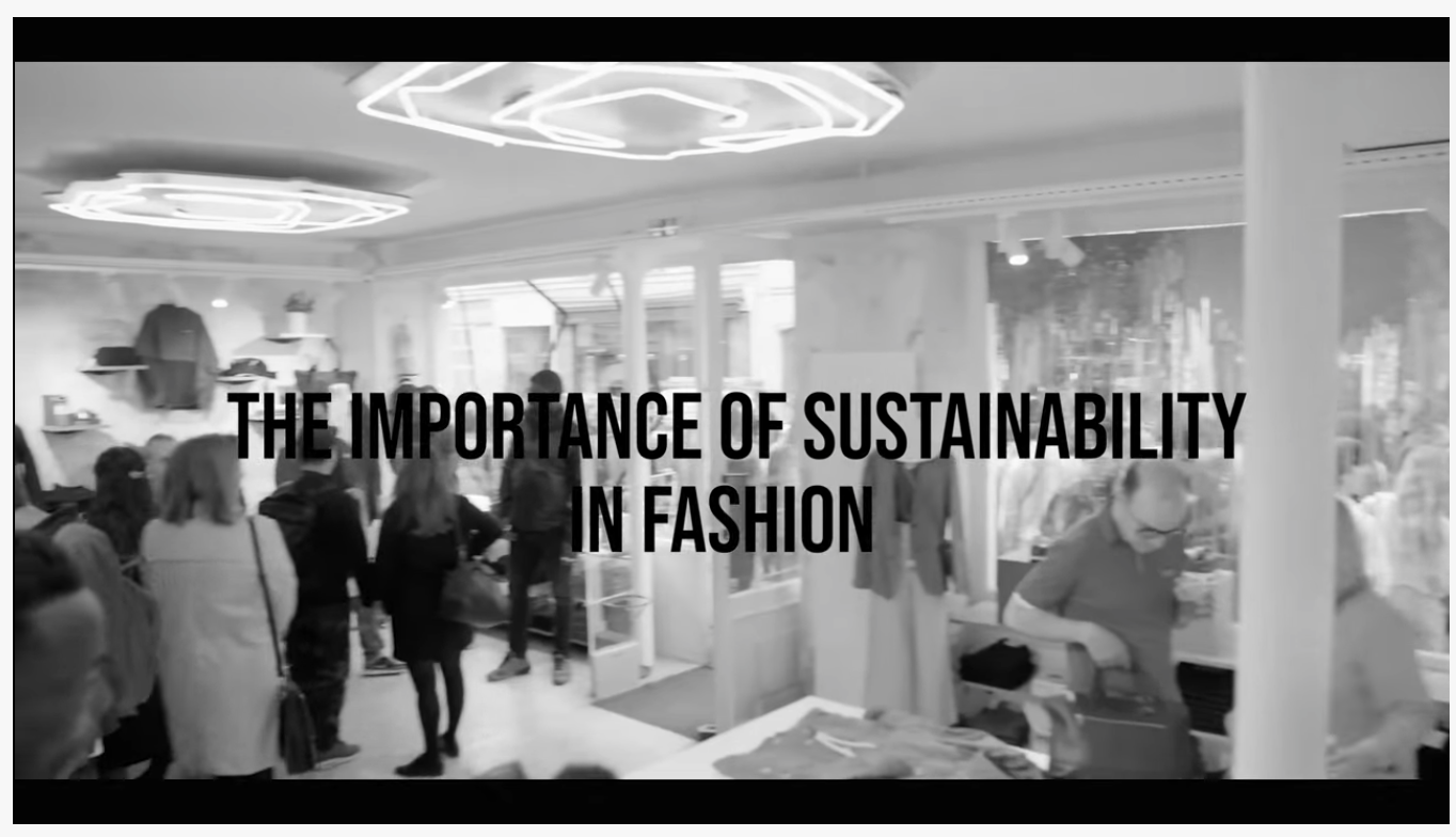Sustainability and ethics are things that I believe people in fashion should take more seriously. In today's video I have highlighted the importance.