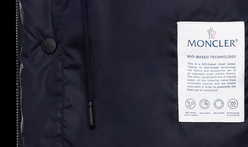 The new Moncler bio-based and carbon neutral down jacket: how sustainable is it?