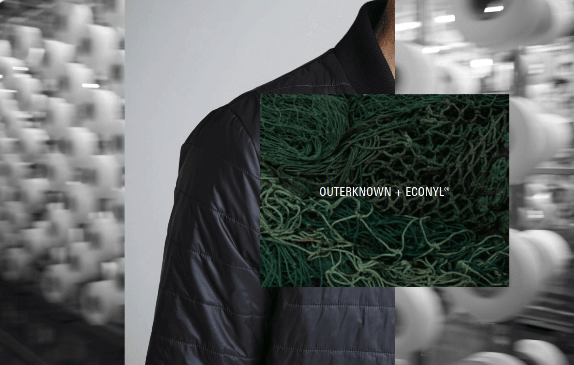 A decade in sustainable fashion: recycled econyl outerknown