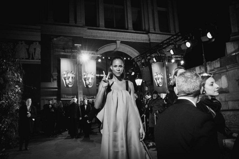 Bafta attendees have been asked to rewear old dresses on the red carpet