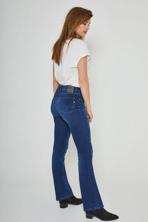 Amy Bootcut Herbal Blue