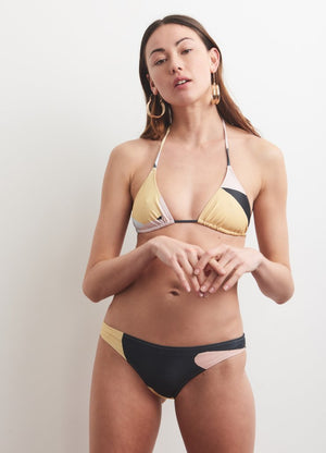 Base Bikini Top in Monte Blanc & the Window