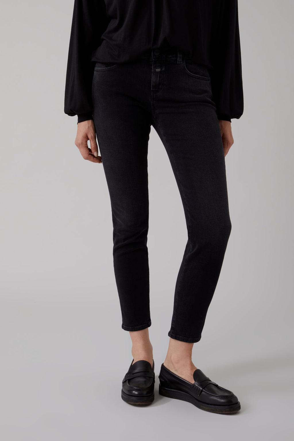 Baker Soft Stretch Black Denim