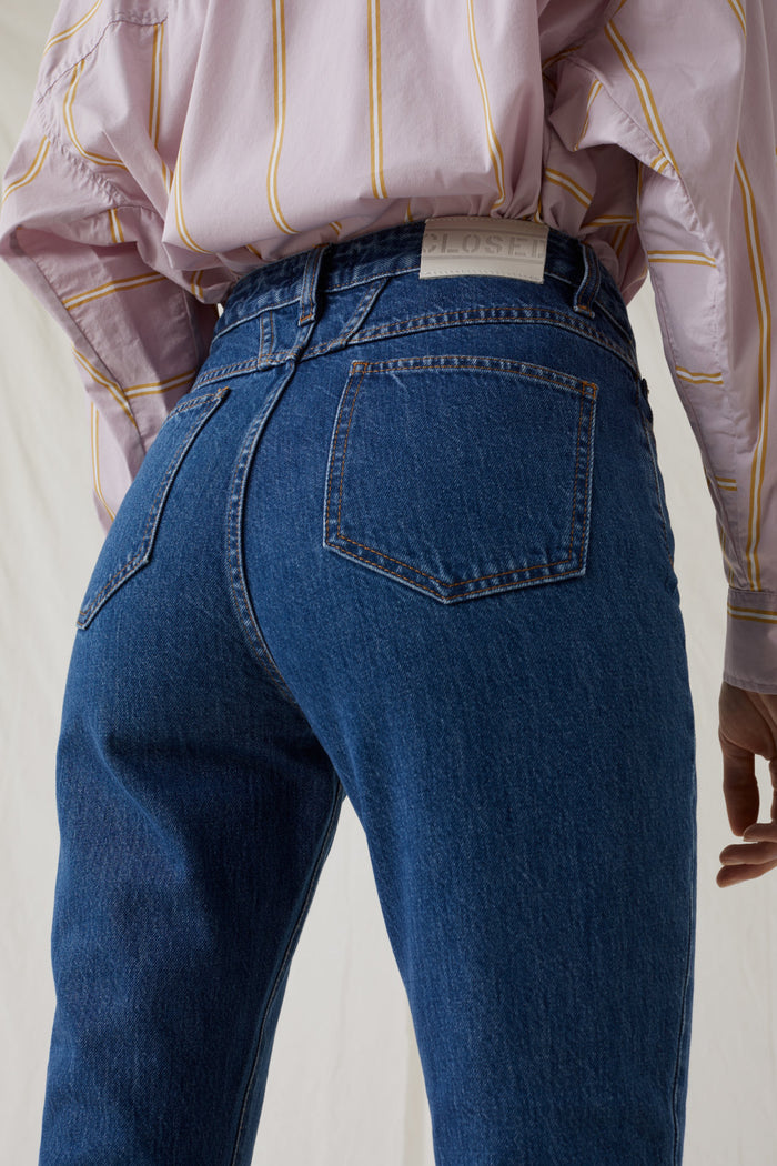 Baker High Blue Denim