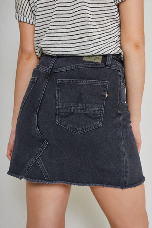 Dani Denim Skirt Black Used