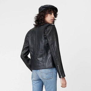 Deadwood Izzy Leather Jacket Black