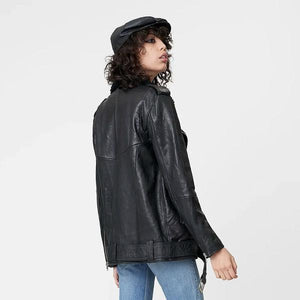 Deadwood Uma Leather Jacket Black