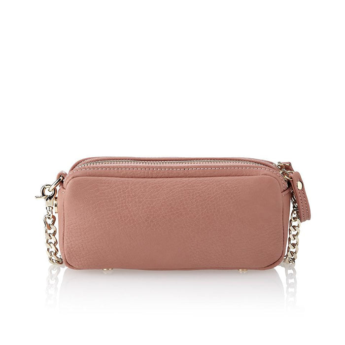 Hummingbird shoulder bag - Powder pink