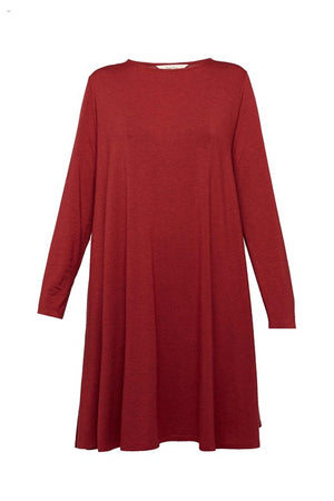 Alicia Dress in Red