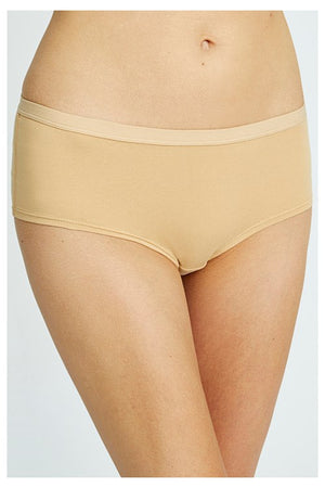 Almond Low Rise Shorts