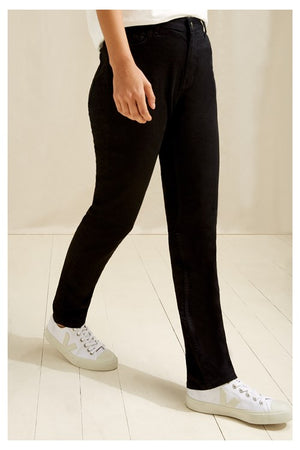 Heather Slim Fit Jeans In Black