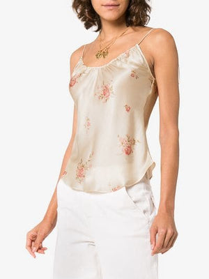 beatrice silk top