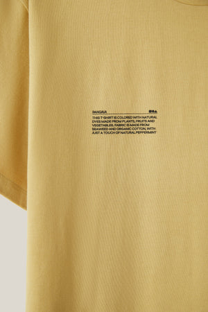 Botanical dye t-shirt—yellow
