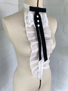 Majorie Pleated Bib Collar