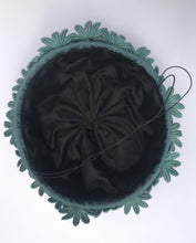 Steel Blue Twiggy Daisy Hat