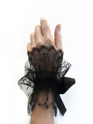 Chantilly Lace Cuffs