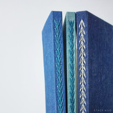 Bookbinding - Triple Chain Binding