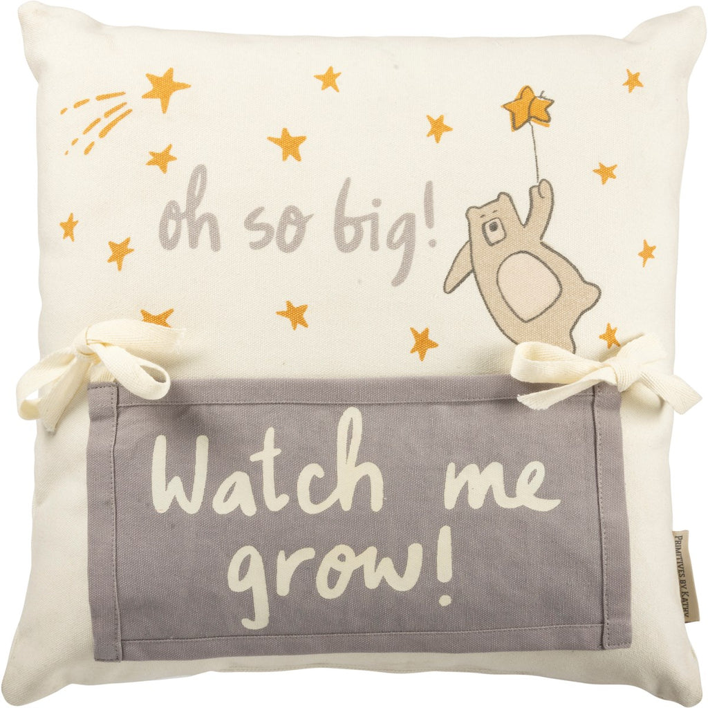 Oh So Big Milestone Pillow - Citral Living