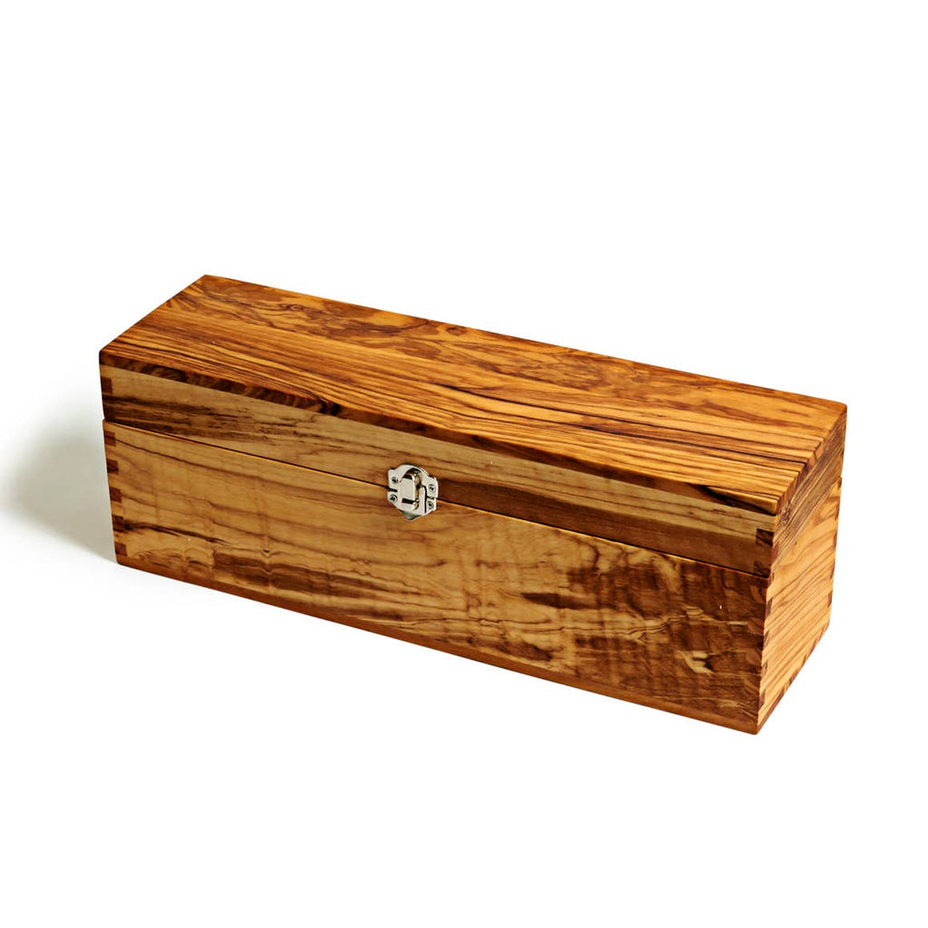 Olive Wood Wine Box - Citral Living