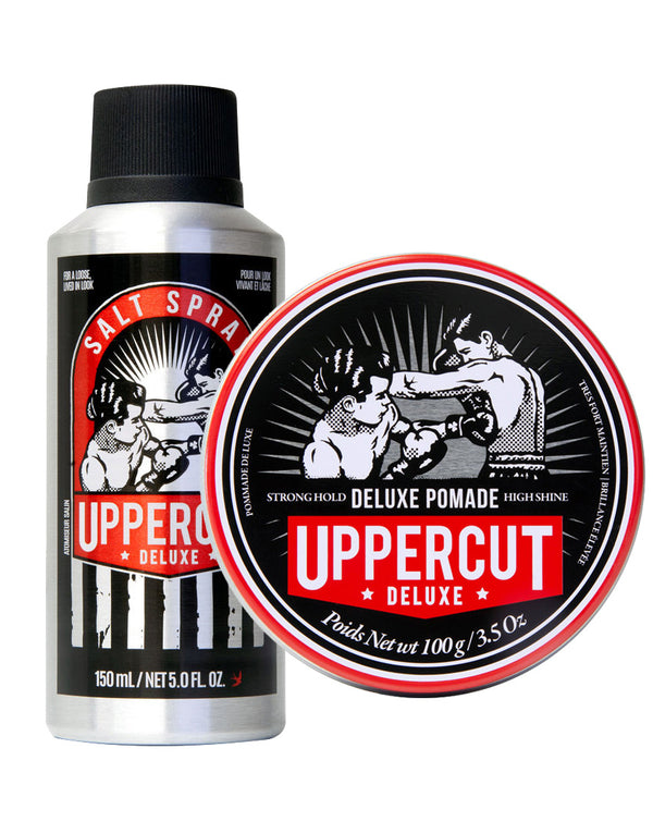 UPPERCUT DELUXE POMADE + SALT SPRAY