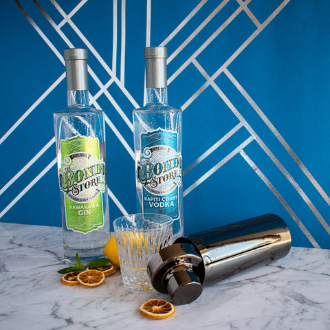 The Bond Store Kawakawa Gin and Kapiti Coast Vodka