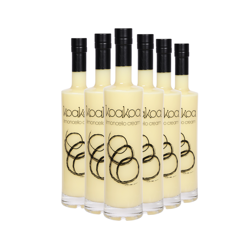 koakoa Limoncello Cream  375 ml six-pack (save $35)