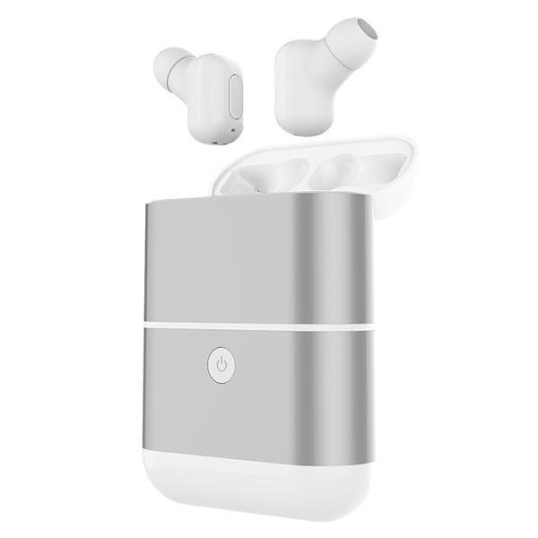 [Truly Wireless] X2-TWS IPX5 Waterproof Bluetooth Earphone With 1600mAh Charger Box Case Power Bank