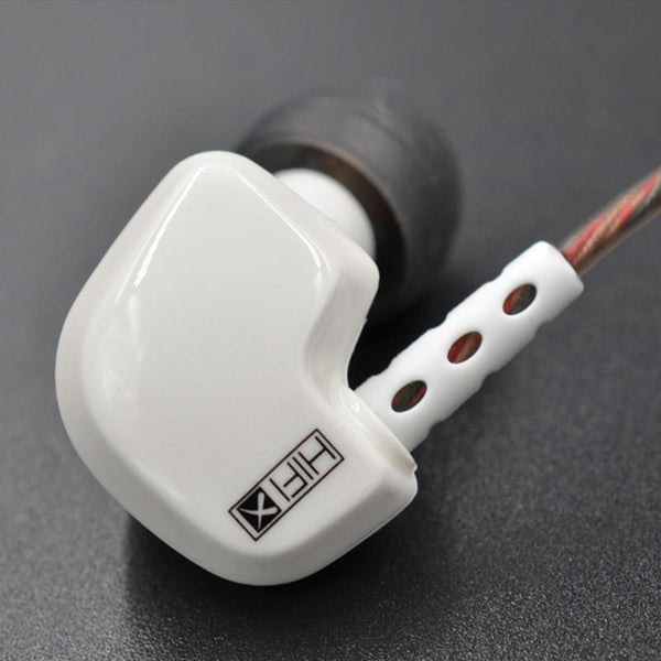 KZ HD9 Wired In-ear HiFi Sport Copper Driver Earphone with Microphone Line Control