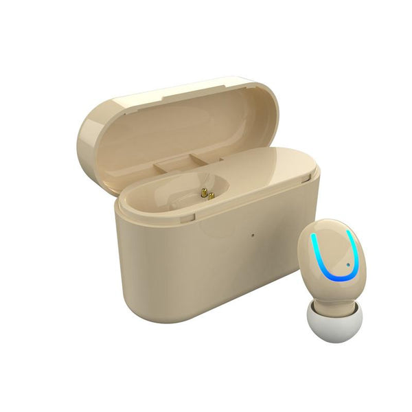 [Bluetooth 5.0] TWS True Wireless Earphone Dual Single Earbud Noise Cancelling Mic with Charging Box