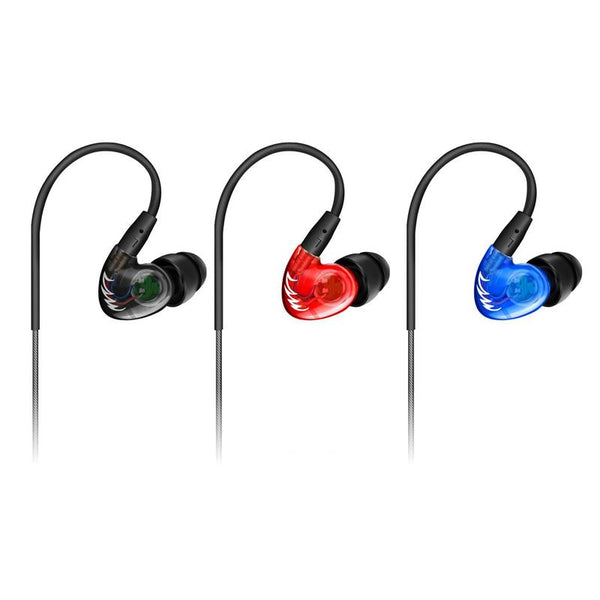 QKZ DM300 In-Ear Super Bass Stereo HiFi Earphone with Microphone Line Control
