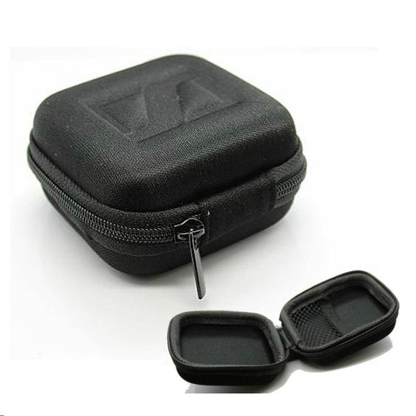 Portable Earphone Bag EVA Hard Shockproof Cable Charger Earbuds Zipper Storage Case Box Cover
