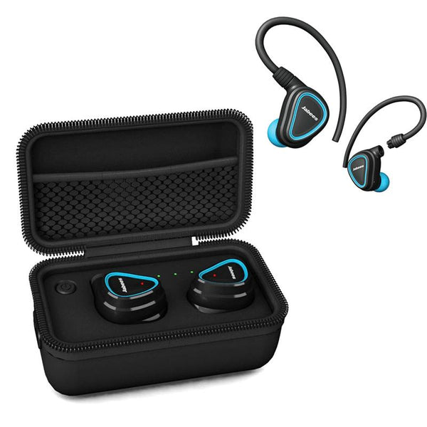 [True Wireless] Jabees Shield Bluetooth Earphone Portable Stereo Fitness Sports Headphone with Mic