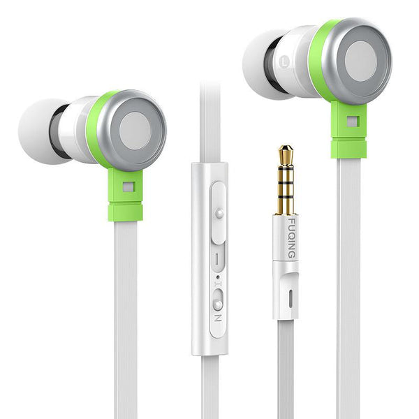 Inpher C1 Wired Earphone Stereo 3.5mm In-ear Dynamic In-line Control Headset Earphones With Mic